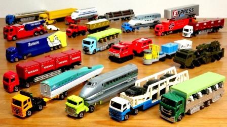 挖掘机工程车汽车玩具:超多系列的汽车玩具开箱试玩!
