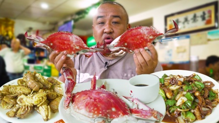 天津第一海鲜馆?螃蟹88元一斤,几十种海鲜随便挑!
