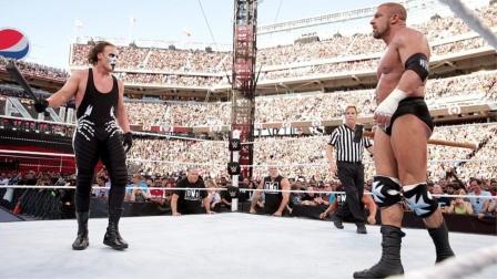 摔角狂热31,魔蝎大帝决战HHH,斯汀用棒球棍劈断铁锤!