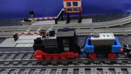 工程车汽车玩具故事:为何火车头会一直冒出浓浓的白烟呢?