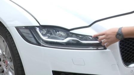 更换价值2.4万元的捷豹大灯上竟贴了奔驰小标签,车主懵了