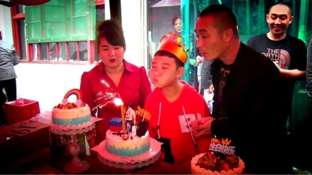周佳淏小王子12岁生日纪实