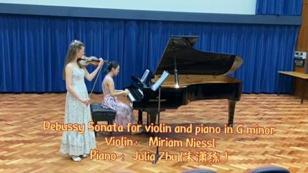 Debussy-Sonata-for-violin-and-piano-in-G-minor