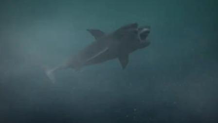 【夺命双头鲨】05:双头鲨被电流吸引撞塌岛,小伙自私逃命开走船只 夺命双头鲨 1