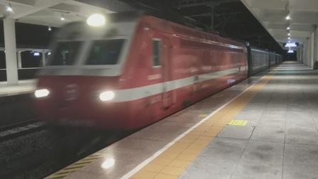 SS7E0016兰局兰段K1584乌鲁木齐-重庆西晚点6分进南充北站20:17 20210930
