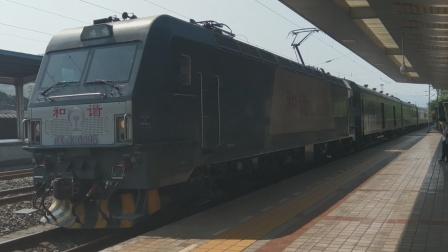HXD3C0295成局重段T10重庆西-北京西晚点6分进广安站11:33