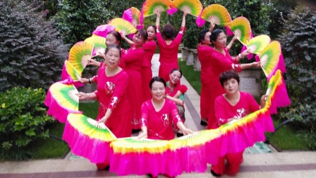 《山里人乐的好潇洒》建发中央公园舞蹈队