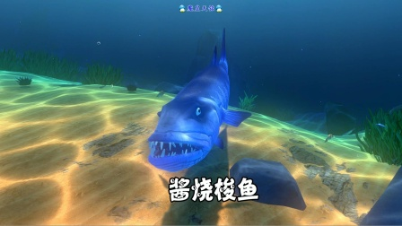 天铭 海底大猎杀 第三季 66 酱烧梭鱼,惨不忍睹的鱼生!