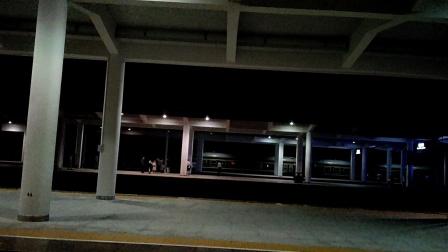 D8555次(重庆西站-贵阳北站)本务广州动车段CRH2A统型重联遵义站进站