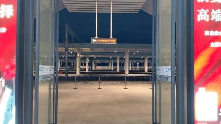 D1872次(广州南站-重庆西站)本务贵阳车辆段CRH2A型贵阳东站进站