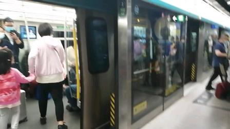 北京京港地铁4号线036号车北京南站出站(天宫院站方向)