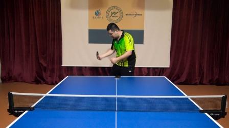 乒乓球正手如何削侧旋球,才能让对手难以进攻?