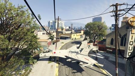 麟飞:你见过歼15战斗机在城市公路起飞吗?