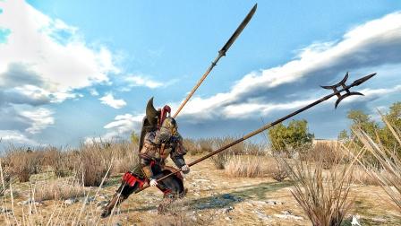 【虾米】好沉的方天画戟啊!只身入敌城!骑马与砍杀2 第十一期