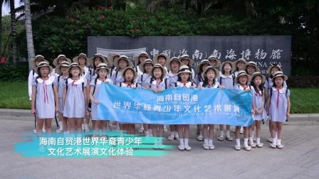 海南自贸港世界华裔青少年文化艺术展演文化体验