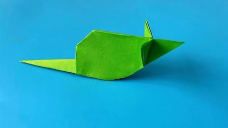 教你折纸山梨雅弘的老鼠,简单易学,折纸王子儿童折纸教程