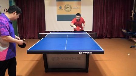 乒乓球长胶选手如何选用底板?要采用什么技战术占得比赛主动权?