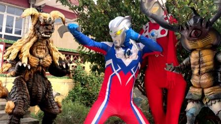 闯关族M78:赛罗奥特曼带雷欧突围的这段太搞笑了!