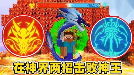 我的世界斗罗生存97:龙神两招击败神王,第二个神位难如登天!