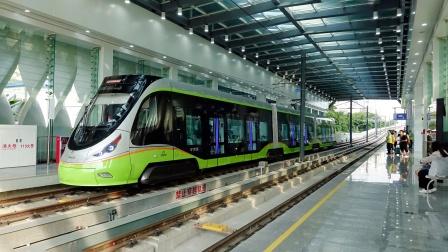 [2021.9]南海有轨电车1号线 康怡公园-平西 运行与报站