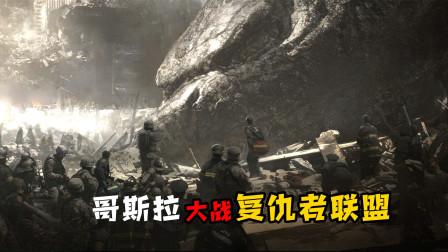 哥斯拉大战复仇者联盟:神盾局捕获怪兽之王,谁知却是灾难的开始