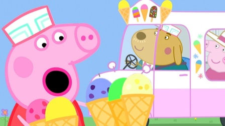 小猪佩奇和乔治给猪爸爸和妈妈准备什么礼物?怎么不是冰淇淋?