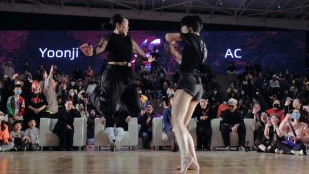 Yoonji vs AC - Dance Vision vol.8 Freestyle Battle 决赛