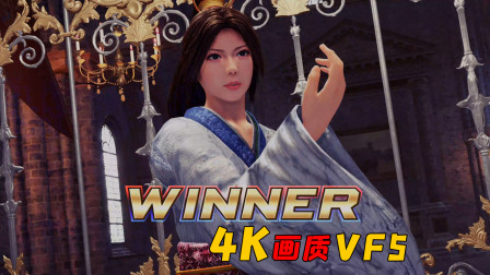 【4K】VF5:游戏操作确实很难上手,但打击观感效果很棒
