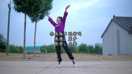网络热歌《你在他乡还好吗》广场舞户外实拍