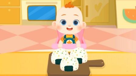 JOJO好习惯:吃美味的玉米饭团 宝宝巴士游戏
