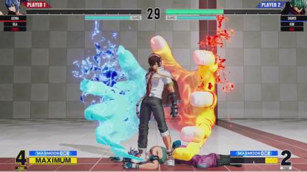 拳皇15:瞬影的EX升龙魔鬼升起真是神技,摸到就是稳定追击