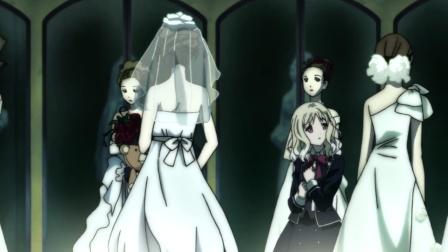 病娇吸血鬼专门囚禁人类女孩,吸干血后再将其制成新娘蜡像