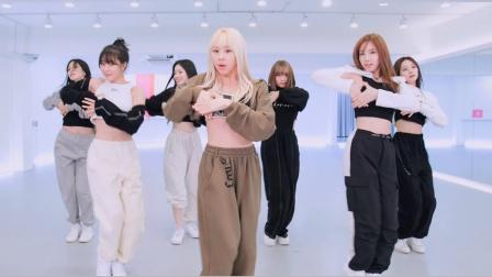 TWICE的新曲 眼神接触版 舞蹈练习室