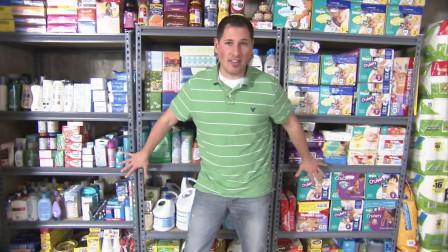 美国奶爸利用业余时间薅超市羊毛,3年薅了25000片纸尿裤