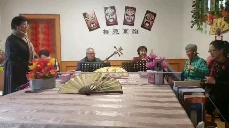 小姜学艺京剧白蛇传小青妹南阳梅苑京韵