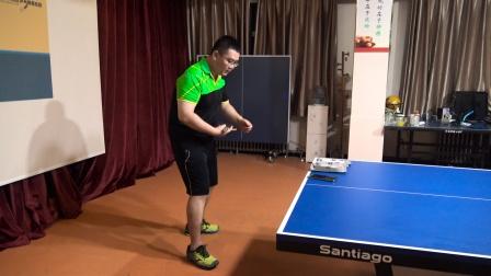乒乓球来球到反手球时,如何通过步法的移动来进行找位?