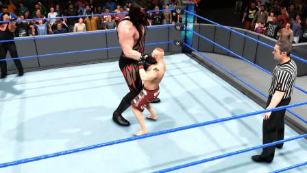 巨人凯恩对战莱斯纳,谁才是真正的猛兽?