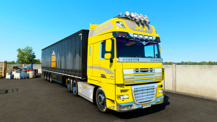 【欧洲卡车模拟2】跨国运输 从罗马尼亚到土耳其