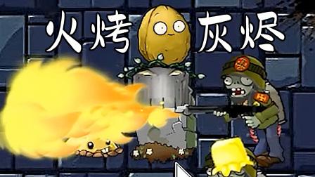 这是什么火?能烤死一切灰烬植物!