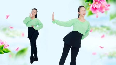 糖豆广场舞课堂《花都开了你来不来》欢快活泼