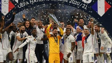 法国队豪取十大赛事冠军 成首个大满贯球队