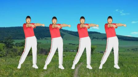 草原天籁歌曲《心上人》独特的旋律太好听了,健身操嗨起来