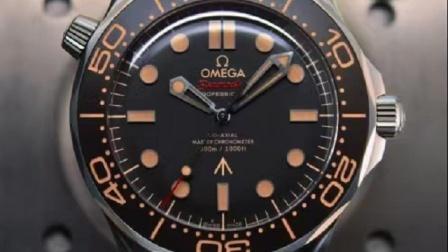 欧米茄海马300米潜水表007版宣传片