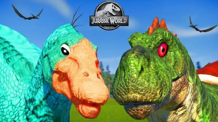 侏罗纪世界423恐龙大PK