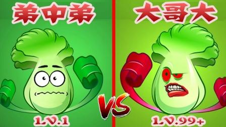 植物大战僵尸:小老弟和大佬的世纪之战!谁会是最后的成功人士?