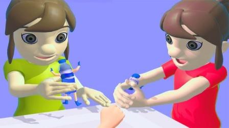 趣味小游戏:白雪好气人呀!我好心送水给她喝,居然被她给打翻掉