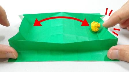 能在课堂上和同桌一起玩的折纸小玩具,看谁能坚持到最后!