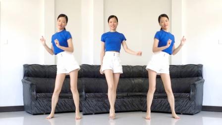 入门32步广场舞《因为爱着你》农村室内健身操
