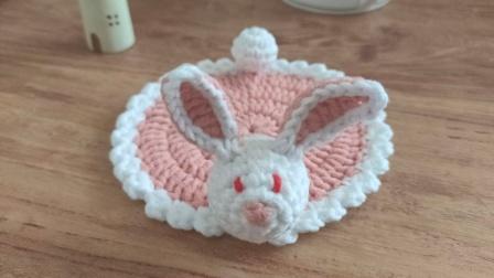 【团子手工】第66集--兔子杯垫