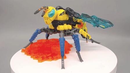 你看看人家做的BBB,52toys猛兽匣黄蜂